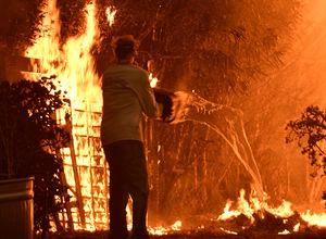 چرا آتشنشانان اسرائیلی به کمک آمریکاییها نمیروند؟