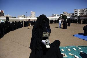 عکس/ زنان یمنی با دلارهایشان چه کردند؟