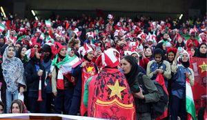 واکنش فیفا به حضور بانوان در استادیوم آزادی +عکس