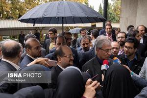 عکس/ چتری برای دو وزیر