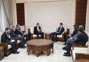 تاکید اسد و جابری انصاری بر ادامه مبارزه با تروریسم