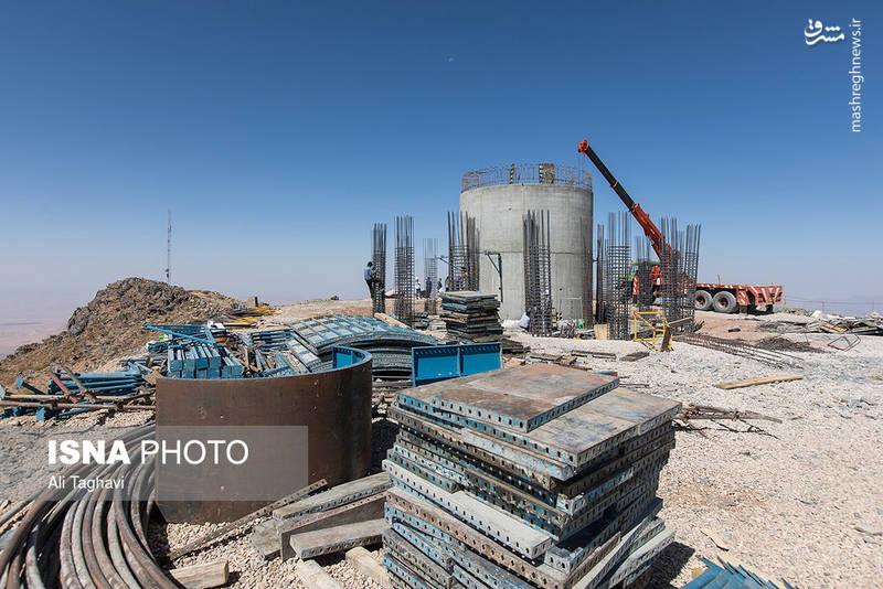 پروژه ساخت رصدخانه ملی/  عکس