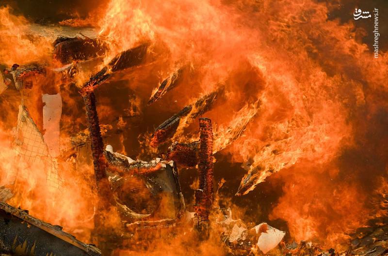 2382917 - مرگبارترین آتش سوزی جنگلهای کالیفرنیا
