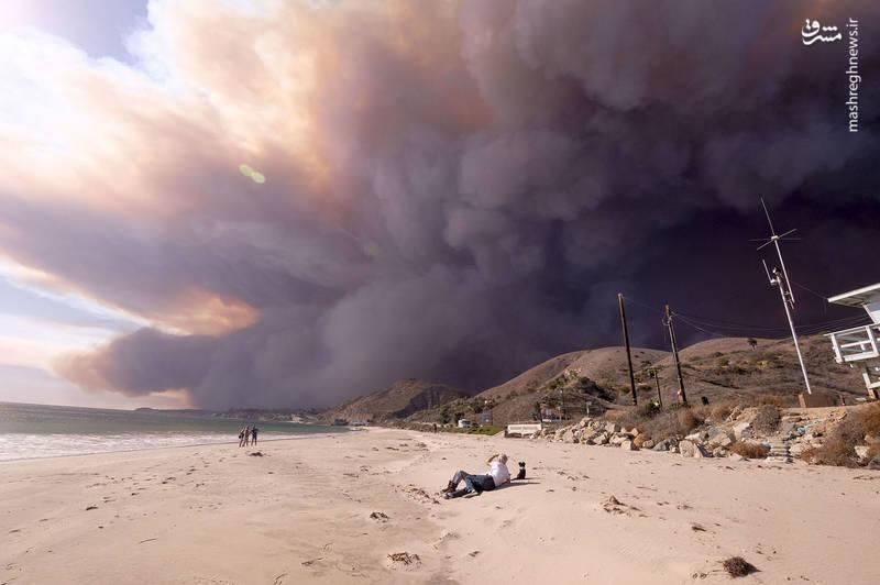 2382924 - مرگبارترین آتش سوزی جنگلهای کالیفرنیا
