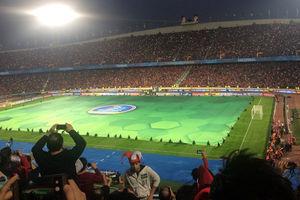 دو جایگاه پاکیزه آزادی پس از فینال لیگ قهرمانان آسیا +عکس