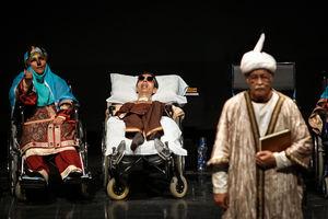 """نمایش """"رستم و سهراب"""" توسط معلولین آسایشگاه کهریزک"""