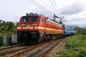 فیلم/ فرار از مرگ زیر چرخهای قطار!