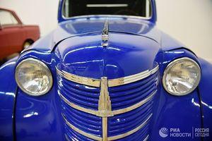 عکس/ نمایشگاه خودروهای کلاسیک در روسیه