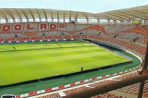 تصاویر هوایی از استادیوم مدرن فولاد خوزستان