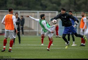 عکس/ تمرین تیم ملی فوتبال ایران
