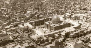تصویر قدیمی از حرم امیر المؤمنین علی(ع)