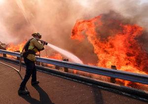 از آتشسوزی در آمریکا خوشحالید؟