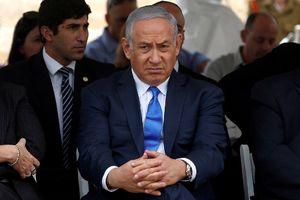 اولین تصاویر از نتانیاهو بعد از موشک باران مقاومت