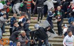 40 مجروح، حاصل نبرد خونین در فوتبال الجزایر