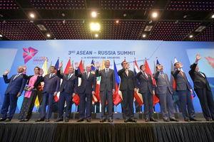 عکس یادگاری سران کشورها در اجلاس «آسه آن»