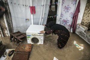 بارش باران زندگی در برخی از نقاط ترکیه را مختل کرد