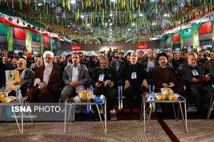 عکس/ سردار جعفری در کنگره ۳۰۰۰ شهید استان قزوین
