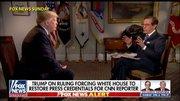 ترامپ: «آکوستا» بدرفتاری کند، او را از کاخسفید بیرون میاندازم