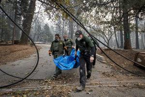 آتش سوزی در کالیفرنیا