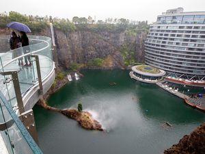 اولین هتل زیرزمینی دنیا افتتاح شد