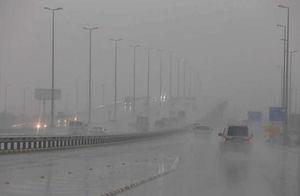 بارش باران کویت را فلج کرد