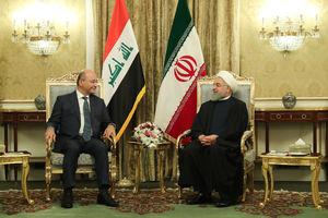 """فیلم/ تاکید """"برهم صالح """" بر نقش ایران در شکست داعش"""