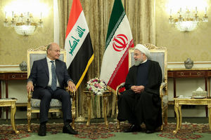 دیدار و مذاکرات خصوصی دکتر روحانی با رییس جمهور عراق
