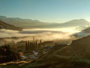 نمای دیدنی و زیبای امروز لواسان در استان تهران