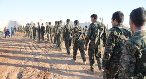 تلاش شبه نظامیان کُرد برای تغییر موازنه قدرت در شرق رود فرات/ جان باختن دهها شهروند سوری با بمب های ممنوعه فسفری ائتلاف غربی  + نقشه میدانی و تصاویر