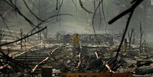 تلفات آتشسوزی کالیفرنیا افزایش یافت +عکس