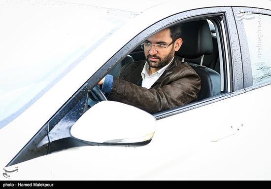 عکس/ رانندگی جهرمی با خودروی شخصیاش!