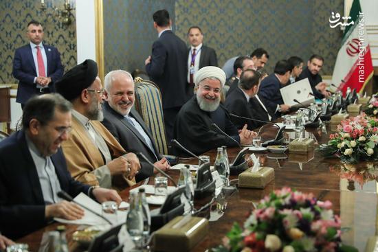 عکس/ مذاکرات مشترک هیاتهای عالیرتبه ایران و عراق