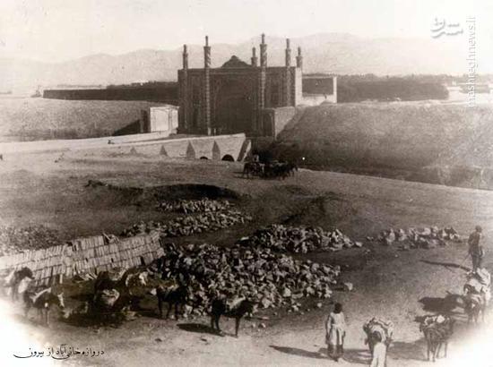 """عکس/ """"خانی آباد"""" در زمان قاجار"""