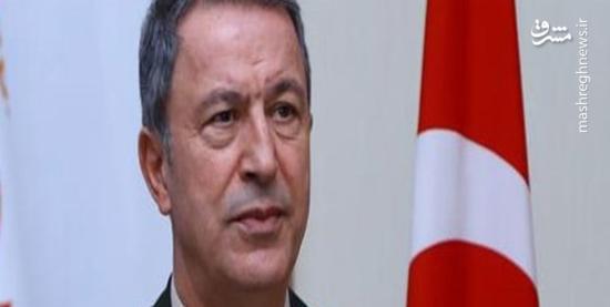 تصویری که واکنش شدید وزیر دفاع ترکیه را برانگیخت