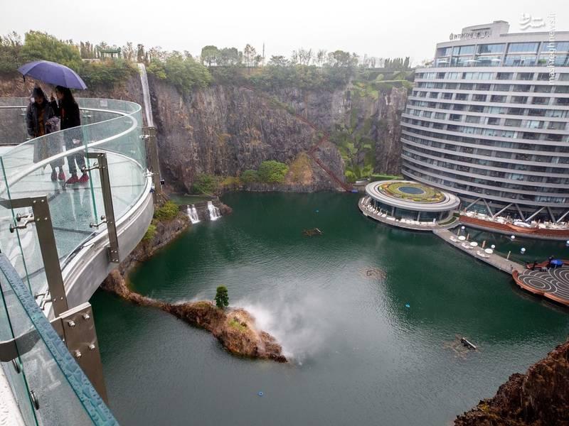 عکس/ اولین هتل زیرزمینی دنیا افتتاح شد