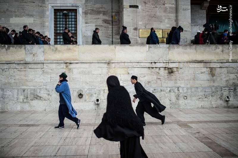 برگزاری نماز میت بر پیکر غایب جمال خاشقچی در مسجد فاتح استانبول