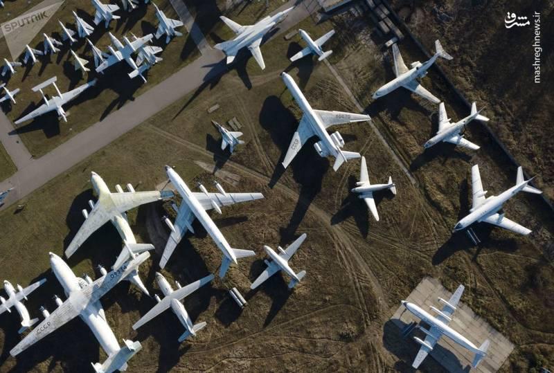 تصویری هوایی از موزه هواوفضای روسیه