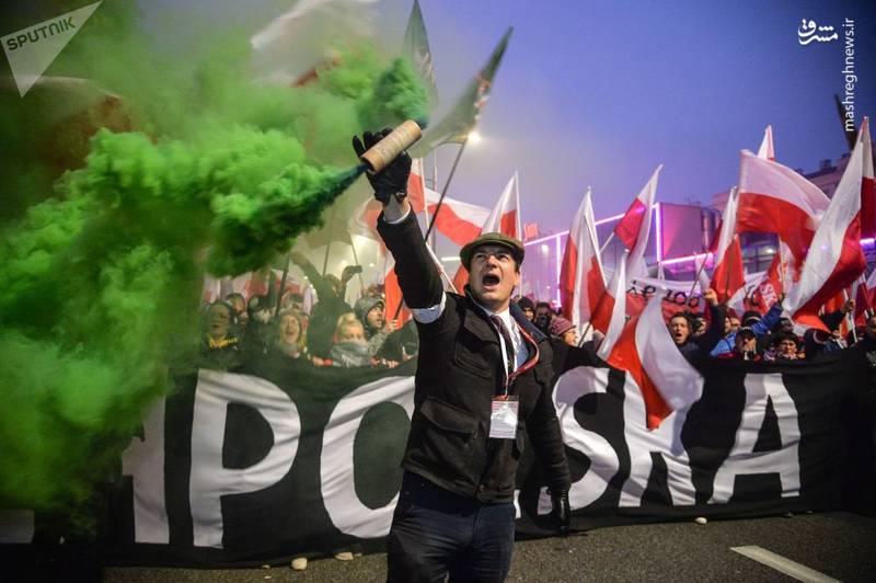 جشن صدسالگی استقلال لهستان در ورشو