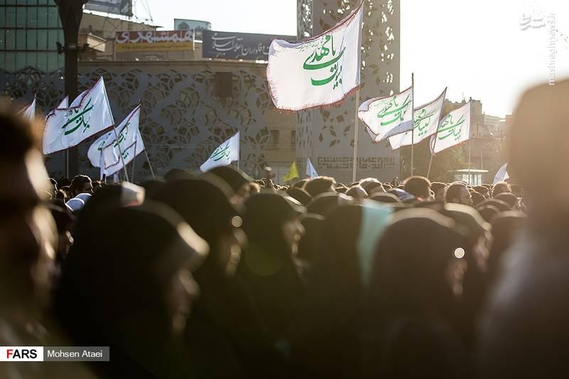 عکس/ جشن عید بیعت در تهران