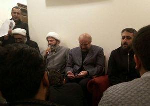 عکس/ حضور قالیباف در منزل شهید جهادگر