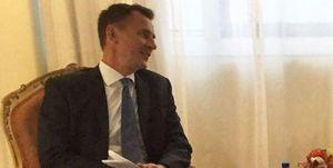 عکس/ دیدار وزیرخارجه انگلیس با دختر جاسوس دوتابعیتی!