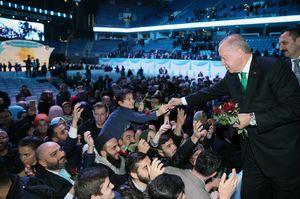 عکس/ اردوغان در مراسم جشن هفته میلاد پیامبر(ص)