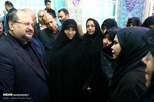 عکس/ مراسم ختم مرحوم تاج الدینی در اصفهان