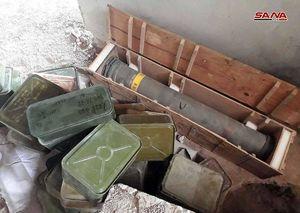 کشف تسلیحات ساخت آمریکا در سوریه