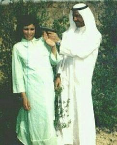 "عکس/ شوخی""صدام"" با همسرش جلوی دوربین!"