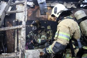 فیلم/ جزئیات آتشسوزی گسترده خیابان امیرکبیر