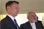 وزیر خارجه انگلیس با ظریف دیدار کرد+عکس