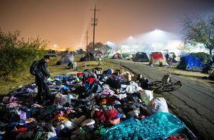 عکس/ وضعیت مردم کالیفرنیا پس از آتش سوزی