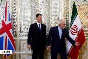 وزیر خارجه انگلیس با ظریف دیدار کرد