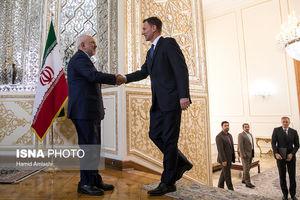 دیدار وزیر امورخارجه انگلیس با ظریف